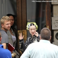 16 Photos of W.E Filming ...