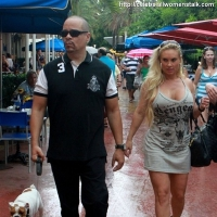 8 Photos of Ice-T and Coco Eat Lunch ...