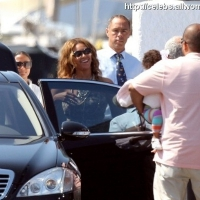 12 Photos of Beyonce and Jay-Z Depart ...