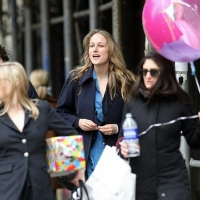 4 Photos of Leelee Sobieski Going to a Party...