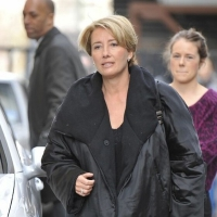 5 Photos of Emma Thompson in London...