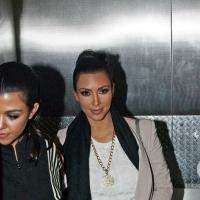 7 Photos of Kourtney Bumps into Kim ...