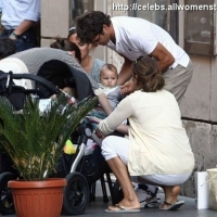 7 Photos of Roger Federer and Family in Rome ...