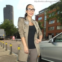 4 Photos of Myleene is a Classy Geek ...