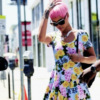 7 Celebrities with Cotton Candy Hair ...
