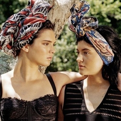 Kendall and Kylie Jenner: Sister Act for Dujour Magazine ...