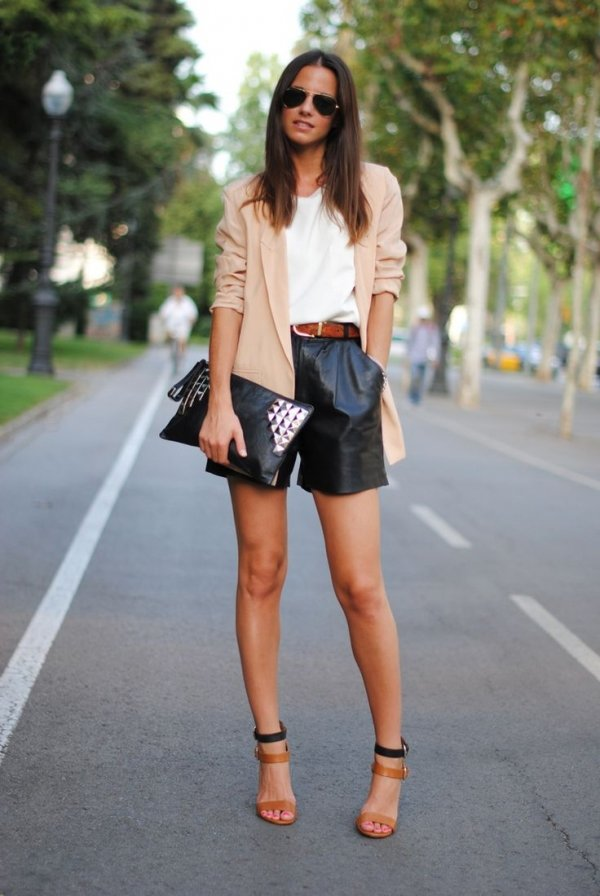 Style High Waisted Shorts