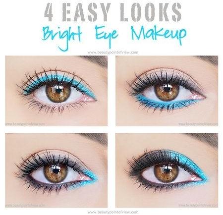 4 Easy Eye Makeup Looks