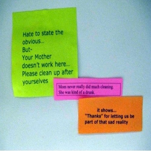 My Mom 23 Hysterically Funny Office Notes Funny