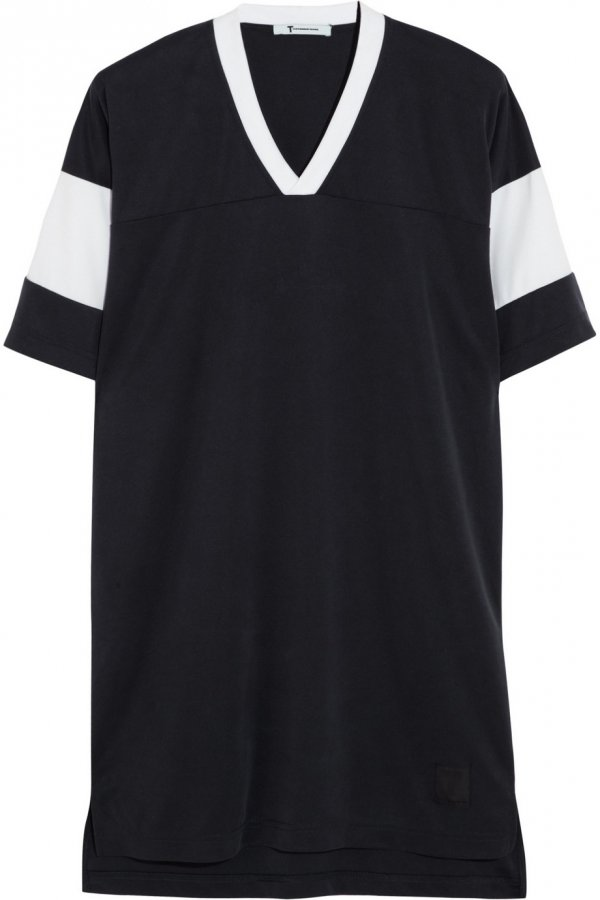 7 sporty dresses for working the athletic trend in style for Sporty t shirt dress