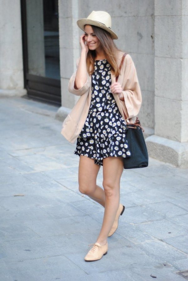 Romper - 7 Street Style Outfits with Oxfords to Recreate ... u2026
