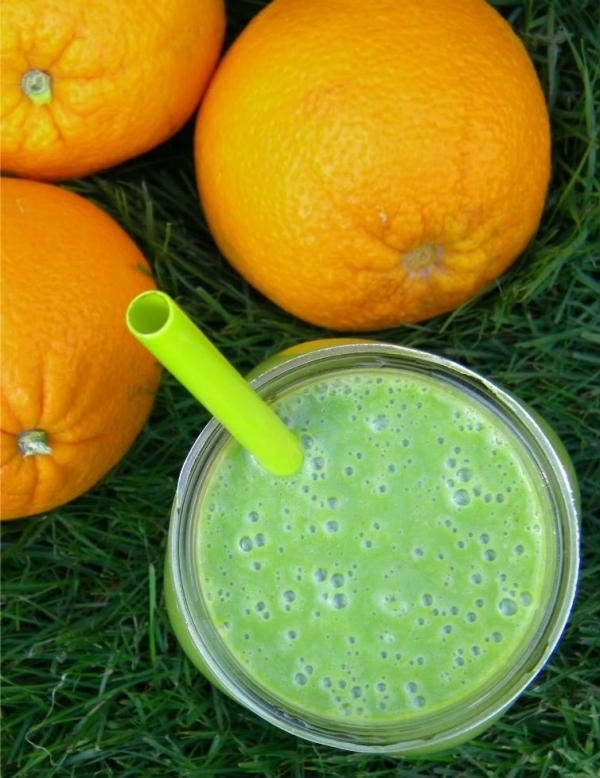 Green Orange Creamsicle Smoothie - 9 Healthy Vegan Smoothie…