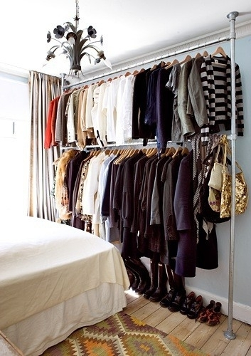 With Such A Small Space, Color Coding Your Clothes Is One Of The Easiest  Ways To Organize Your Closet. Part 58
