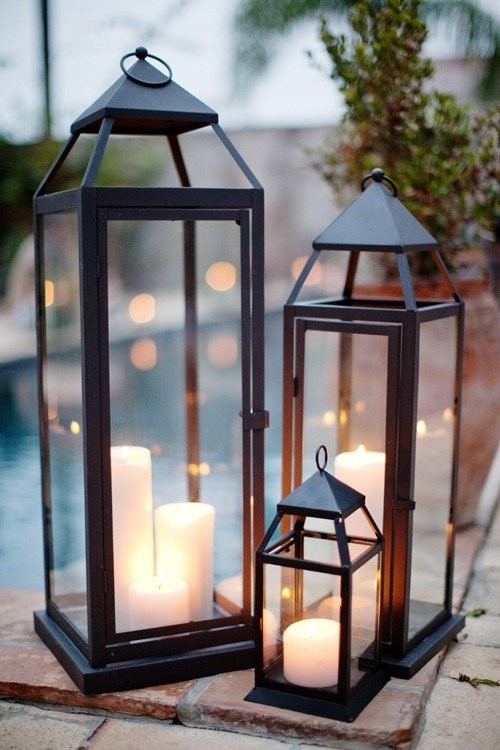 Outside on your patio table ways to decorate with