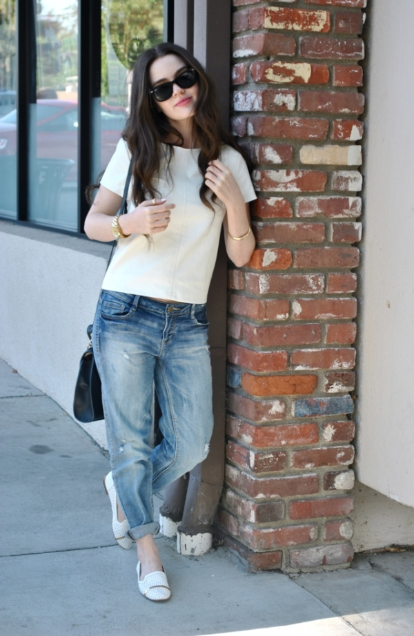 Boyfriend Pants And A Baggy T Shirt 7 Brilliant Outfit