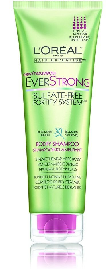 L'Oreal EverStrong Bodify Shampoo - 21 Best Shampoos for Damaged…