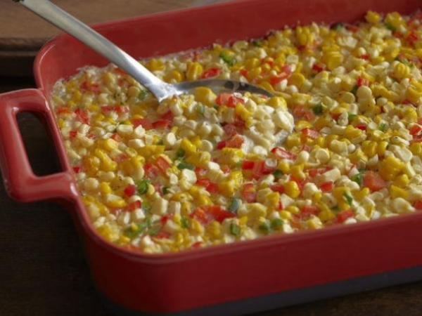 Southwestern Corn and Pepper Casserole