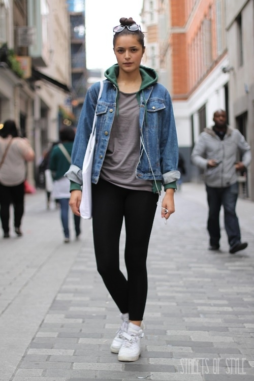 Outfits With Denim Jacket - Coat Nj
