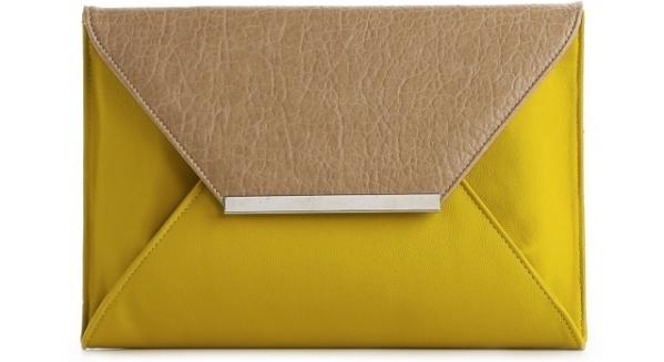 Mix No. 6 Color Block Envelope Clutch