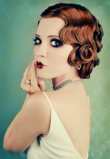 short hairstyles for big women : Fun with Finger Waves - 7 Stylish Fake Short Hairstyles That Dont?