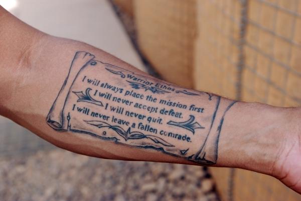 Military Tattoo 13 Gorgeous Ideas For Your Next