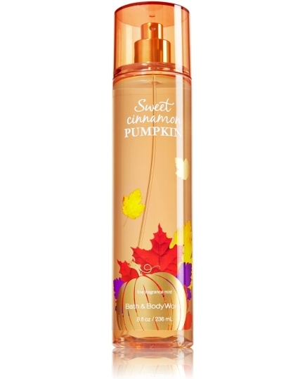 Sweet Cinnamon Pumpkin by Bath & Body Works