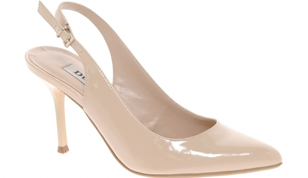 7. Nude Slingback Pointed Heels - 7 Elegant Slingback Shoes to Wear…