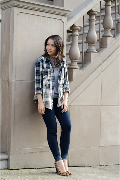 4. Plaid Shirt - 7 Essential Items to Have for an Easy Transition…