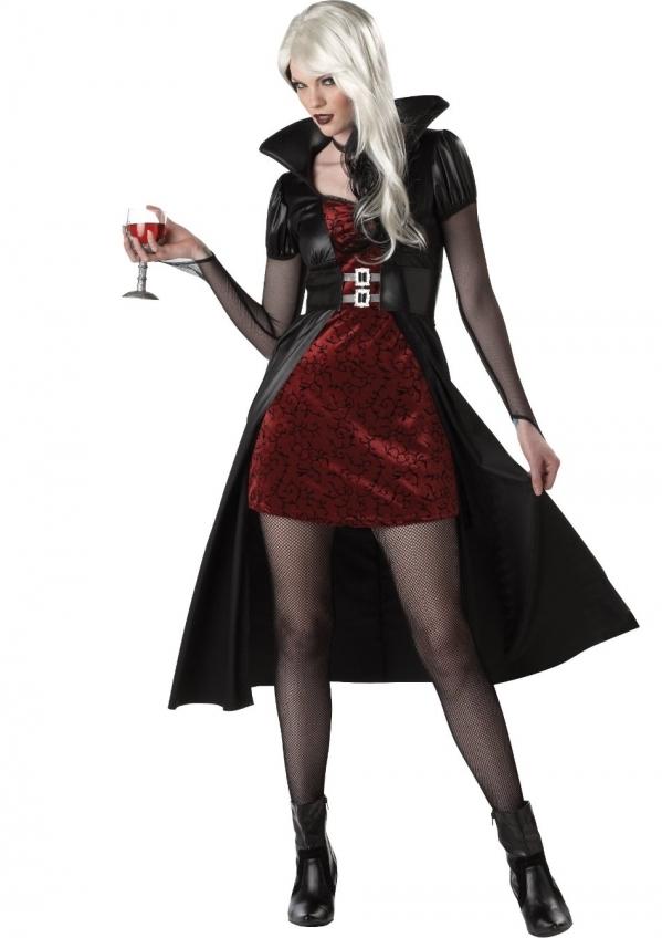 Vampire - 7 Cute and Easy Last-Minute Halloween Costume ...