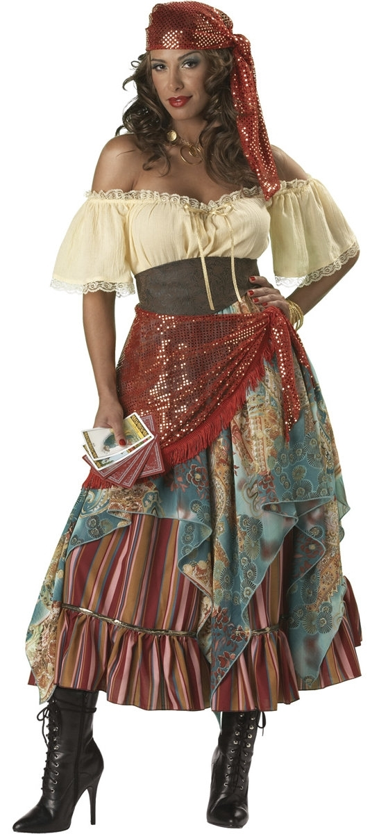 the gypsy look