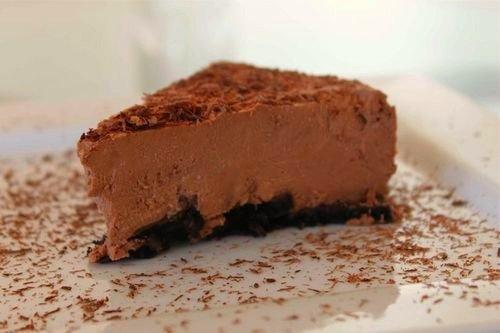 Easy Elegant No-Bake Cheesecake - 50 Best Chocolate Desserts -…