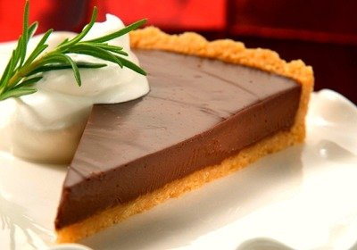24. Rosemary-Kissed Chocolate Satin Tart - 50 Best Chocolate Desserts ...