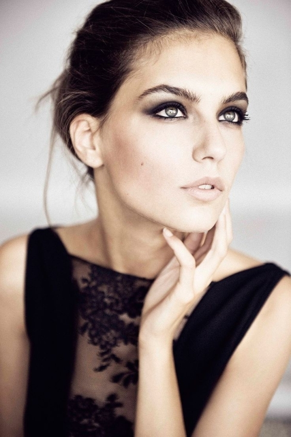 how to get perfect smokey eye look