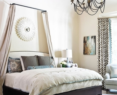 Curtains Ideas curtain rod canopy bed : 13 Gorgeous DIY Canopy Beds ... → DIY