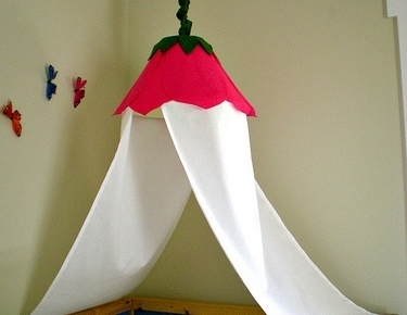 Lamp shade 13 gorgeous diy canopy beds diy lamp shade how cute this is another diy canopy bed idea for a little girls room however you can use this method for your own bedroom too aloadofball Choice Image