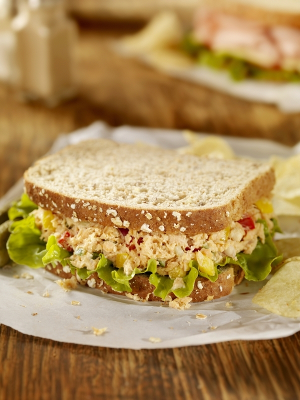 Simple Tuna Fish Sandwich Recipe — Dishmaps