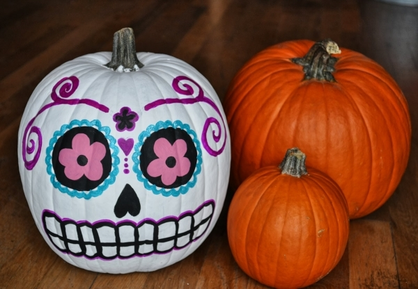 pumpkins 7 diy sugar skull crafts you can do for