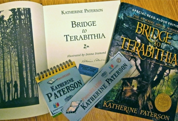 an analysis of the main themes in bridge to terabithia a book by katherine paterson The author, paterson, uses many of reasonable literary elements in her book, such elements encompass: character, plot, setting, theme, style, point of view, and tone these seven elements show us that friendship between the main characters, jesse and leslie, in bridge to terabithia, although interrupted by many everyday occurrences, can develop.