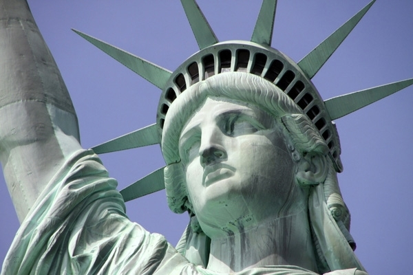 See the View from the Statue of Liberty's Crown