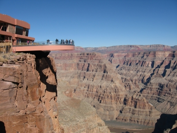 Step out on the Grand Canyon Skywalk