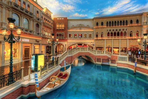Ride a Gondola at the Venetian in Las Vegas