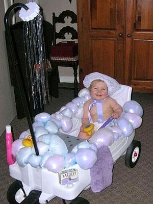 dress your child up as bubbles - Unique Kids Halloween Costume