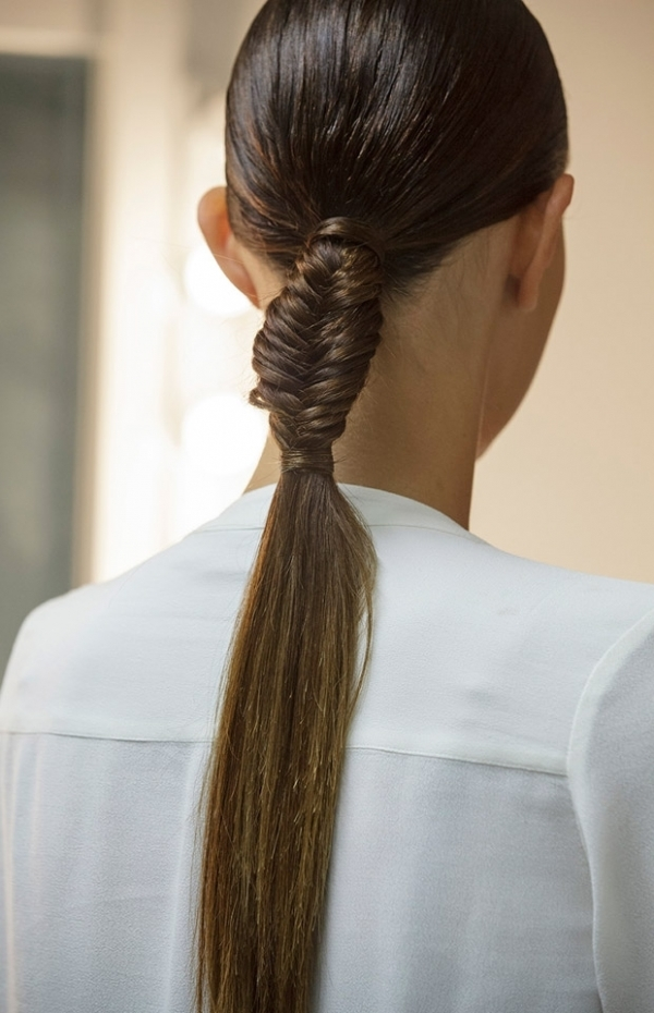 Slick Braid 11 Ways To Wear A Ponytail So You Can Look