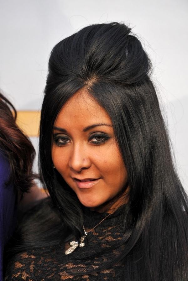 snooki hairstyles : ... Create Snookis Hair How To Get The Snooki Hair Poof LONG HAIRSTYLES
