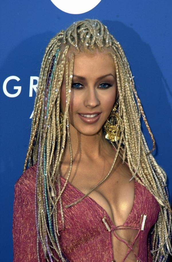 Remarkable 5 Christina Aguilera39S Hair Experiments 9 Worst Hairstyles Ever Short Hairstyles Gunalazisus