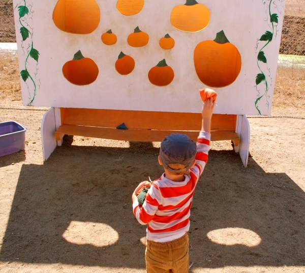 Jack-O-Lantern Bean Bag Toss