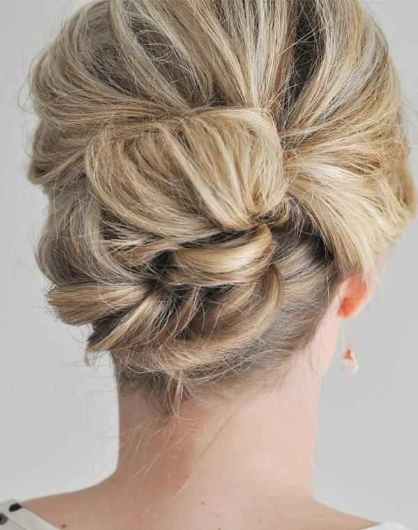 Prime 2 The Easier Than It Looks Updo 15 Easy Updos That You Can Do In Short Hairstyles Gunalazisus