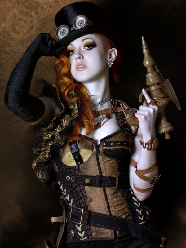 Funky Corset 11 Fabulous Steampunk Fashion Elements That