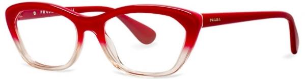 Prada Burgundy Eyeglasses
