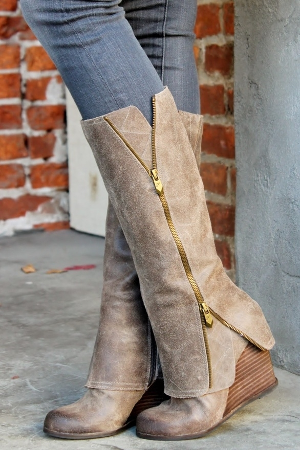 Fergie - 7 Brands of Knee High Boots I'm Gushing over This ... Fergie Shoes